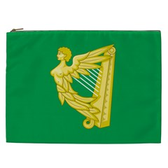 The Green Harp Flag Of Ireland (1642 1916) Cosmetic Bag (xxl)  by abbeyz71