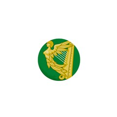 The Green Harp Flag Of Ireland (1642 1916) 1  Mini Buttons by abbeyz71