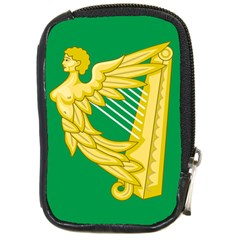The Green Harp Flag Of Ireland (1642 1916) Compact Camera Cases by abbeyz71