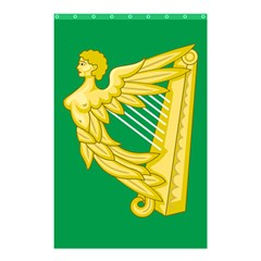 The Green Harp Flag Of Ireland (1642 1916) Shower Curtain 48  X 72  (small)  by abbeyz71
