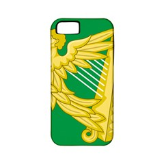 The Green Harp Flag Of Ireland (1642 1916) Apple Iphone 5 Classic Hardshell Case (pc+silicone) by abbeyz71