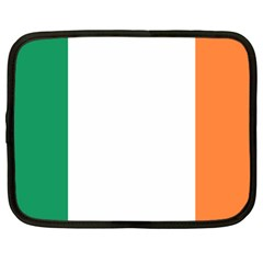 Flag Of Ireland  Netbook Case (large) by abbeyz71