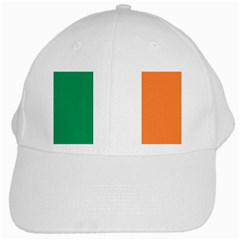 Flag Of Ireland  White Cap by abbeyz71