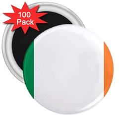 Flag Of Ireland  3  Magnets (100 Pack) by abbeyz71
