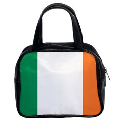 Flag Of Ireland  Classic Handbags (2 Sides) by abbeyz71