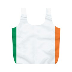 Flag Of Ireland  Full Print Recycle Bags (m)  by abbeyz71