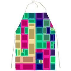 Rectangles And Squares              Full Print Apron by LalyLauraFLM