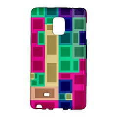 Rectangles And Squares        Samsung Galaxy Note 4 Leather Folio by LalyLauraFLM