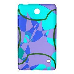 Purple Blue Shapes        Sony Xperia Z3 Hardshell Case by LalyLauraFLM