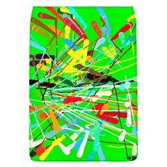 Colorful Painting On A Green Background        Samsung Galaxy Grand Duos I9082 Hardshell Case by LalyLauraFLM