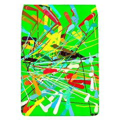 Colorful Painting On A Green Background        Blackberry Q10 Hardshell Case by LalyLauraFLM