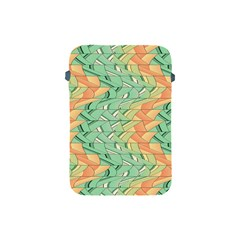 Emerald And Salmon Pattern Apple Ipad Mini Protective Soft Cases by linceazul