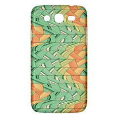 Emerald And Salmon Pattern Samsung Galaxy Mega 5 8 I9152 Hardshell Case  by linceazul