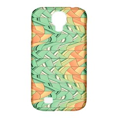 Emerald And Salmon Pattern Samsung Galaxy S4 Classic Hardshell Case (pc+silicone) by linceazul