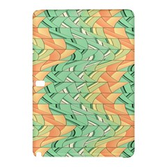 Emerald And Salmon Pattern Samsung Galaxy Tab Pro 12 2 Hardshell Case by linceazul