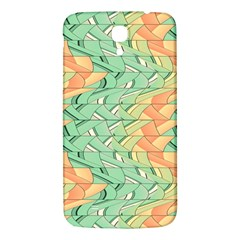 Emerald And Salmon Pattern Samsung Galaxy Mega I9200 Hardshell Back Case by linceazul