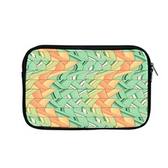 Emerald And Salmon Pattern Apple Macbook Pro 13  Zipper Case by linceazul