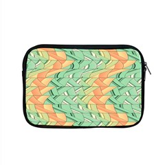 Emerald And Salmon Pattern Apple Macbook Pro 15  Zipper Case by linceazul