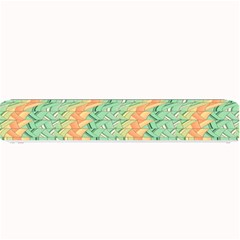 Emerald And Salmon Pattern Small Bar Mats by linceazul