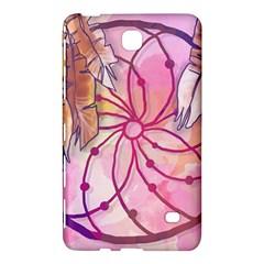 Watercolor Cute Dreamcatcher With Feathers Background Samsung Galaxy Tab 4 (8 ) Hardshell Case  by TastefulDesigns