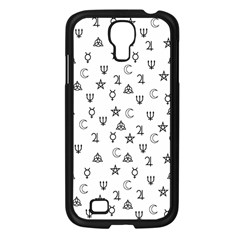 Witchcraft Symbols  Samsung Galaxy S4 I9500/ I9505 Case (black) by Valentinaart