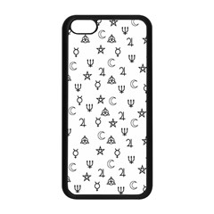 Witchcraft Symbols  Apple Iphone 5c Seamless Case (black) by Valentinaart