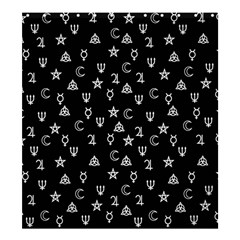 Witchcraft Symbols  Shower Curtain 66  X 72  (large)  by Valentinaart
