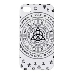 Witchcraft Symbols  Apple Iphone 4/4s Hardshell Case by Valentinaart