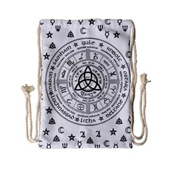 Witchcraft Symbols  Drawstring Bag (small)