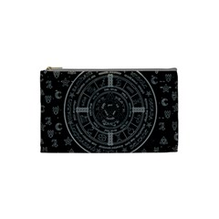 Witchcraft Symbols  Cosmetic Bag (small)  by Valentinaart