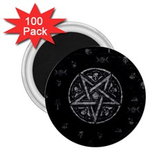 Witchcraft Symbols  2 25  Magnets (100 Pack)  by Valentinaart