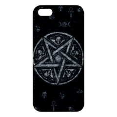 Witchcraft Symbols  Apple Iphone 5 Premium Hardshell Case by Valentinaart