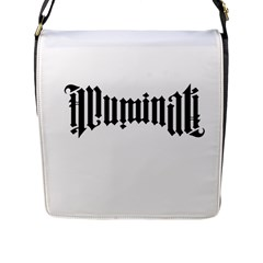 Illuminati Flap Messenger Bag (l)
