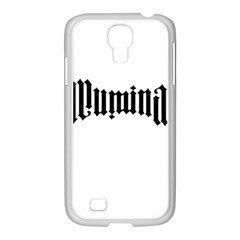Illuminati Samsung Galaxy S4 I9500/ I9505 Case (white) by Valentinaart