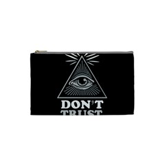 Illuminati Cosmetic Bag (small)  by Valentinaart