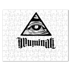 Illuminati Rectangular Jigsaw Puzzl