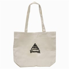 Illuminati Tote Bag (cream) by Valentinaart
