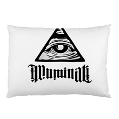 Illuminati Pillow Case (two Sides) by Valentinaart