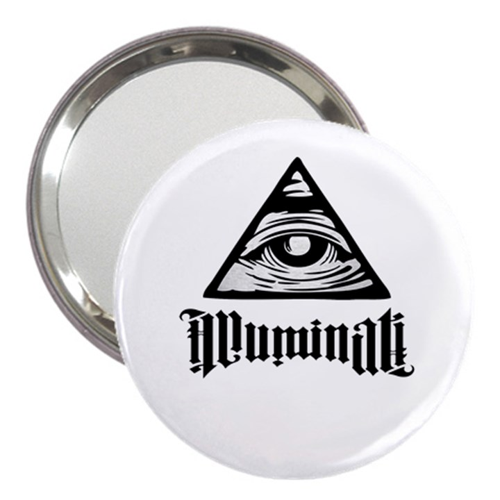Illuminati 3  Handbag Mirrors