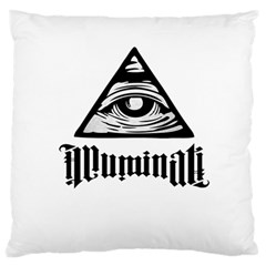 Illuminati Standard Flano Cushion Case (two Sides)