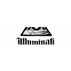 Illuminati Satin Scarf (oblong)