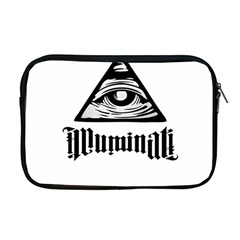 Illuminati Apple Macbook Pro 17  Zipper Case by Valentinaart
