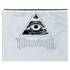 Illuminati Cosmetic Bag (xxxl)  by Valentinaart