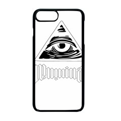 Illuminati Apple Iphone 7 Plus Seamless Case (black) by Valentinaart