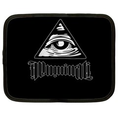 Illuminati Netbook Case (xxl)  by Valentinaart