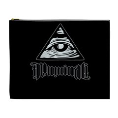 Illuminati Cosmetic Bag (xl) by Valentinaart