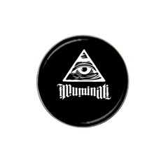 Illuminati Hat Clip Ball Marker (10 Pack) by Valentinaart