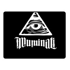 Illuminati Fleece Blanket (small) by Valentinaart