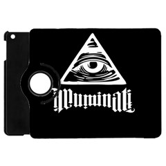 Illuminati Apple Ipad Mini Flip 360 Case by Valentinaart