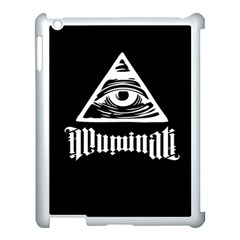 Illuminati Apple Ipad 3/4 Case (white) by Valentinaart